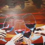 Wine Glas Painting 11