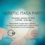 Heretic Itaca Party Flyer copy